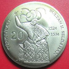 2011 NORTHERN CYPRUS 20 LIRA SULTAN SELIMHAN II OTTOMAN EMPIRE TURKISH no silver