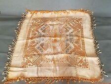 Art Deco 1920s Egyptian revival Shawl Scarf Silk STUNNING Textile