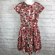 RED Saks Fifth Avenue Women's XS Dress Fit & Flare Short Sleeve