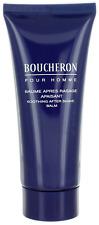 Boucheron Pour Homme By Boucheron For Men After Shave Balm 3.3oz Unboxed New