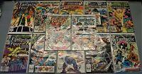 LOT OF 12 Marvel Comics Fantastic Four 1981-1983