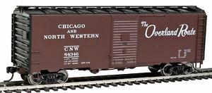 Walthers # 1665  40' AAR 1944 Boxcar CHICAGO & NORTH WESTERN  # 84346 HO  MIB