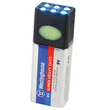 Blocklite 9Volt Battery LED Flashlight minimalist tactical toolbox survival gear