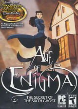 AGE OF ENIGMA The Secret of the Sixth Ghost - Puzzle PC Game Win XP,Vista,7 NEW