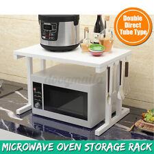 DE Mikrowellen Halterung Mikrowellenhalter Ablage Halter Küche Microwelle Regal