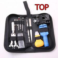 Uhr Uhrmacher Werkzeugsatz Werkzeug Reparatur Watch Set 30 Teilig Tasche Kom