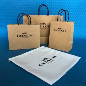 Coach Gift Bag(Original America) Paper Bag or Dust Bag count1