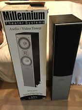Millennium Theater Systems MTS 2605 Speakers Audio/Video Towers 1 In Box 1 No Bx