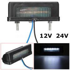 LED NUMBER LICENCE TAG PLATE REAR TAIL LIGHT LAMP TRUCK TRAILER RV CAR 12V 24V