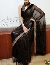 Veeraa Saree Exclusive Beautiful Designer Bollywood Indian Partywear Sari 135