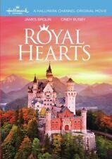 Royal Hearts 2018 (Hallmark DVD) James Brolin, Cindy Busby, Andrew Cooper - New!