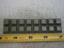 "3M SJ5518 Gray Bumper Feet Self-Adhesive .500"" Square Rubber Lot of 16 #5268"