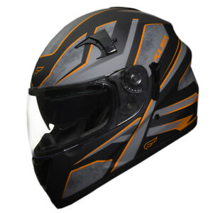 Fulmer Adult Full Face Motorcycle Helmet 151 Pulse DOT Approved Street Bike