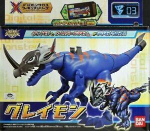 Bandai Digimon Digital Monsters Xros Wars Digi-Fusion 03 Greymon action figure