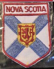 NOVA SCOTIA Patch Halifax CANADA Resort Travel Hiking Biking Souvenir