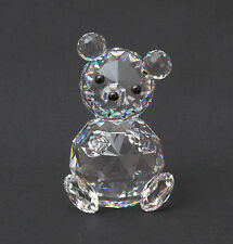 Swarovski Crystal Woodland Friends - Large Bear 7637 NR 075 000 Retired