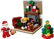 New Lego Santa's Visit 40125 Retired 2015 exclusive Holiday Set Seasonal Sealed