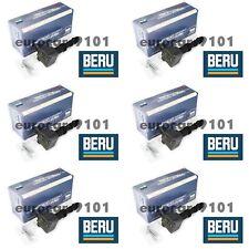 Set of (6) Porsche Beru Ignition Coils Zs178 99760210404