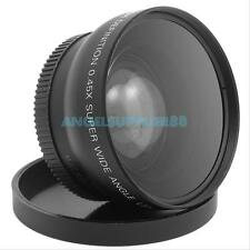 52mm Digital High Definition 0.45X Super Wide Angle Lens Macro for Canon Nikon A