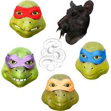 Latex Full Head Overhead Teenage Mutant Ninja Turtles Movie Character Prop Mask