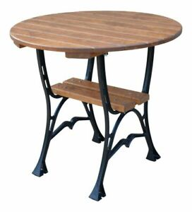 Round Garden Table Wooden Round Outdoor Dining Table DELUXE !!!