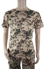 Herren US T-SHIRT Army Armee Tropentarn Tarndruck Camouflage ähnl, Bundeswehr