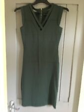 French Connection green dress size 10