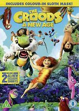 The Croods: A New Age (Includes Colour-In Sloth Mask) [2021] (DVD) Nicolas Cage