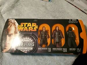 Star Wars Evolutions ANAKIN SKYWALKER TO DARTH VADER New Unopened