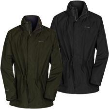 Funnel Neck Zip Raincoats for Men