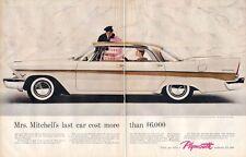 1957 Plymouth Belvedere 4-Door PRINT AD