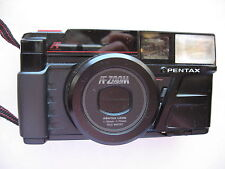 Pentax VINTAGE IQZoom 35MM-70MM Camera AFZoom w/Case, - For Parts Only