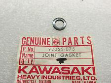 KAWASAKI NOS KV MT1 MINNI TRAIL FUEL COCK JOINT GASKET 1971 - 80 # 92065-075 OM8