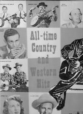 ALL TIME COUNTRY & WESTERN HITS-VARIOUS ARTISTS-KING 537 (SEALED VINYL LP)