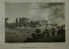 KENILWORTH CASTLE BY J. WALKER C. 1795