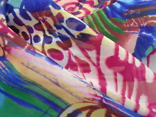 Italian Silk Chiffon 100%, 'Annalisa', (per metre) dress fabric, scarves, tunic