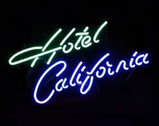 New Hotel California Bar Pub Wall Decor Acrylic Neon Light Sign 17""