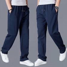 Para Hombres Pantalones Cintura Elástica Deportes Atléticos Pantalones Deportivos Pantalones Activewear Bottoms