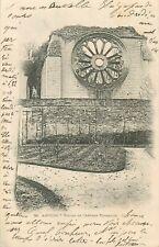 ANGERS ruines de l'abbaye toussaint