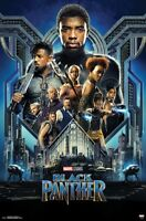 BLACK PANTHER - GROUP ONE SHEET - MOVIE POSTER - 22x34 MARVEL COMICS 16465
