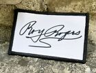 Roy Rogers Autograph - Iron On Patch - Brand New - Unique Gift - Collector Fan