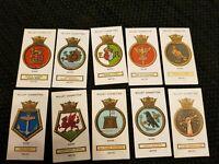Ships Badges (1925) Wills Cigarette Cards - Buy 2 & Save