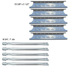 Master Forge 5 Burner Gas Grill L3218,3218LTN Stainless Steel Burner,Heat Plate