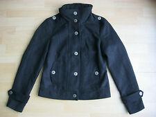 VERO MODA Damen Jacke Kurz-Mantel schwarz blogger gothic M 38/40 NEU