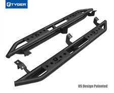 TYGER Star Armor Fit 2005-2018 Tacoma Access Cab Black Side Step Nerf Bars