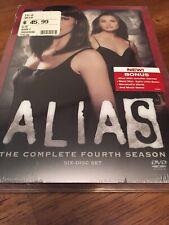 Alias The Complete Fourth Season 6 Disc Box Set