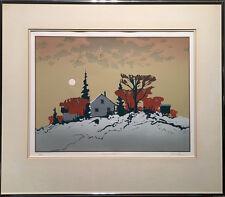 Robert Genn (Canadian) - S/N Serigraph - November