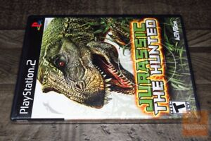 Jurassic: The Hunted (PlayStation 2, PS2 2009) FACTORY SEALED! - RARE! - EX!