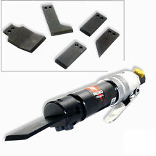 Pneumatic Air Scraper Kit w/ 4 Blades 4500RPM Rust Adhesive Remover Cleaner