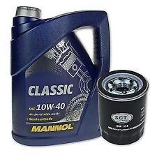 5 Liter Mannol SAE 10W-40 Classic Motoröl + Ölfilter SM 104 von SCT Germany